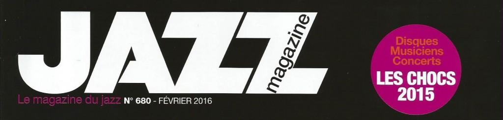 JazzMagazine CouvCHOC  2